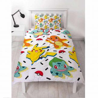 Pokémon Memphis Single Quilt Cover