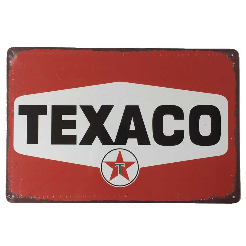 Texaco Sign 30x20cm