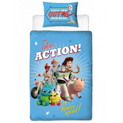 Toy Story 4 Single Quilt