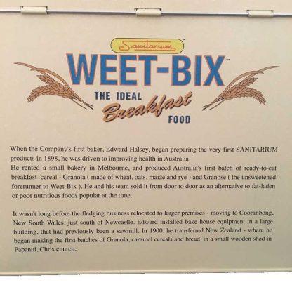 Weetbix Storage Tin