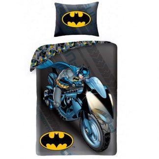 Batman Batcycle Single Quilt
