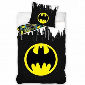 Batman Logo Gotham Single Quilt