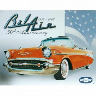 Chevy Bel Air 50th Anniversary Sign