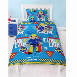 Fireman Sam Cool Single Quilt