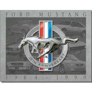 Ford Mustang 35th Anniversary Sign