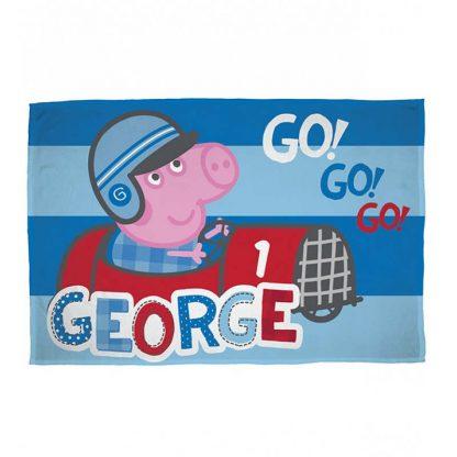 George Speed Fleece Blanket