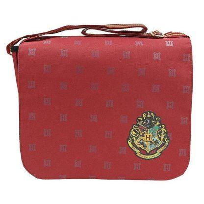 Harry Potter Hogwarts Crest Messenger Bag