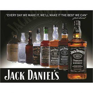 Jack Daniels Bottles Sign