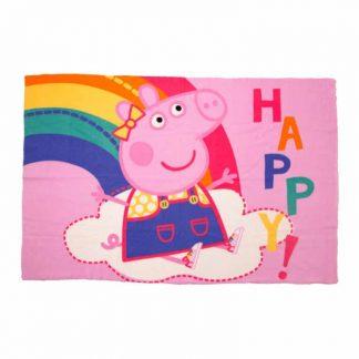 Peppa Pig Hooray Fleece Blanket