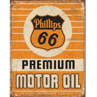 Phillips 66 Premium Oil Sign
