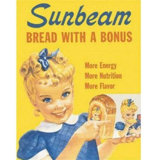 Sunbeam Tin Sign