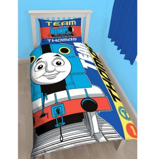 Thomas the Tank Engine Team Single Quilt