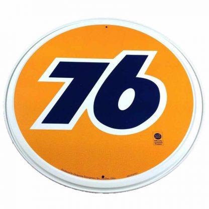 Union 76 Tin Sign