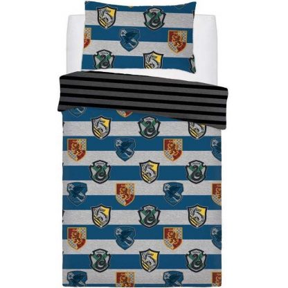 Harry Potter Crest Single Quilt Cover