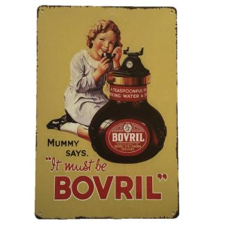Bovril Tin Sign