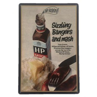 HP Sauce Tin Sign