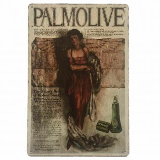 Palmolive Tin Sign