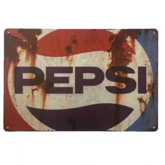 Pepsi Rusty Look Sign