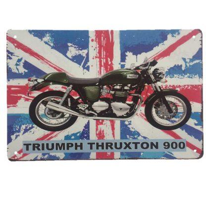 Triumph Thruxton 900 Sign