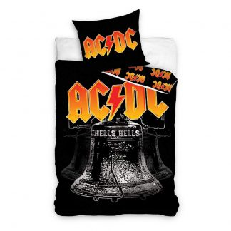 ACDC Hells Bells Single Quilt