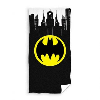 Batman Gotham Logo Beach Towel