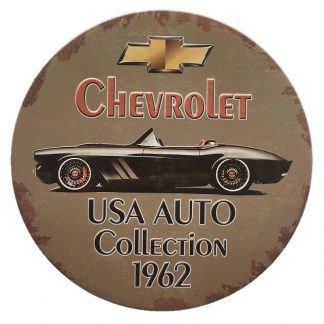 Chevrolet Embossed Sign