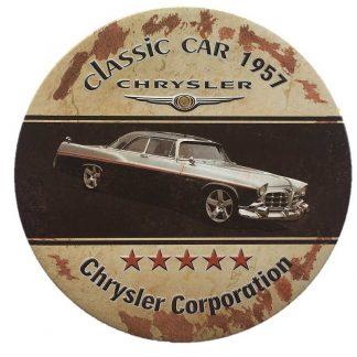 Chrysler Embossed Sign