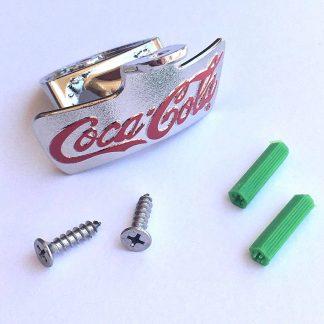 Coke Silver Bottle Opener