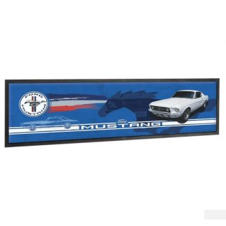 Ford Mustang Logo Bar Runner