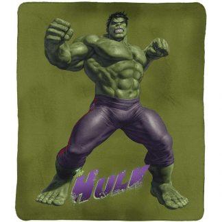 Hulk Throw Rug Blanket