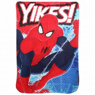 Spiderman Yikes Fleece Blanket