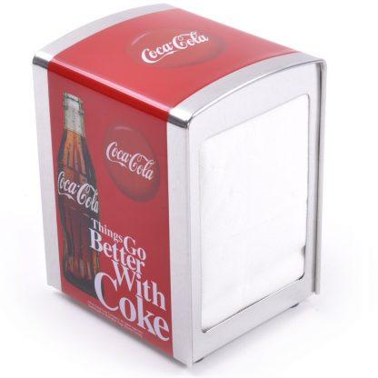 Things Go Better With Coke Napkin Dispenser
