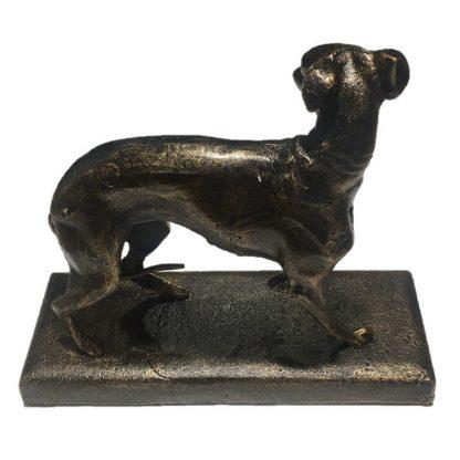 Cast Iron Greyhound Model on Base