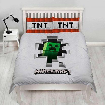 Minecraft Dynamite Double Quilt