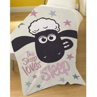 Shaun the Sheep Fleece Blanket