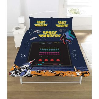 Space Invaders Double Quilt