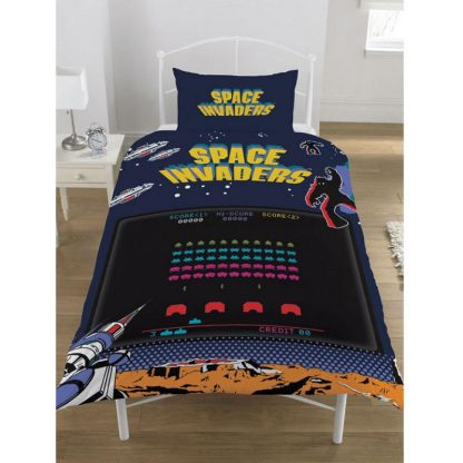 Space Invaders Single Quilt