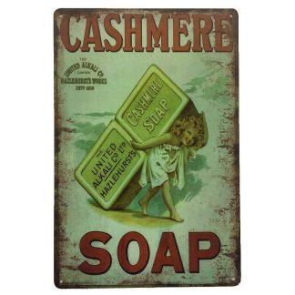 Cashmere Soap Sign