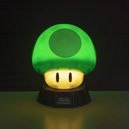 Green 1Up Mushroom Light