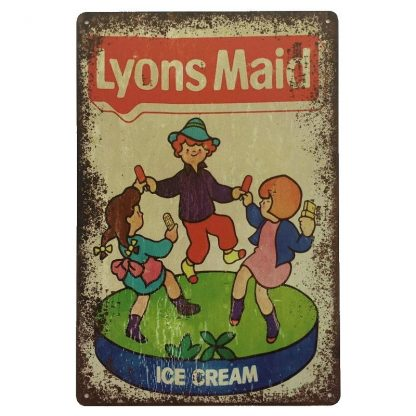 Lyons Maid Sign