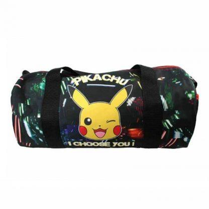 Pokemon Pikachu Glow in The Dark Barrel Bag