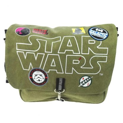 Star Wars Patches Canvas Messenger Bag